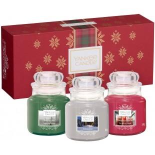 Coffret 3 petites jarres Alpine Christmas