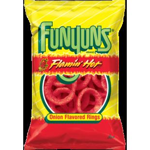 Funyuns Flamin Hot Onion Flavored Rings