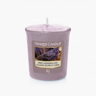 Dried Lavender & Oak Votive