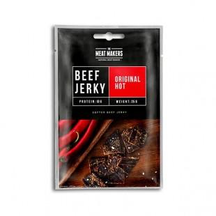 Meat Makers Original Hot Beef Jerky