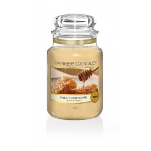 Sweet Honeycomb Bougies Jarres