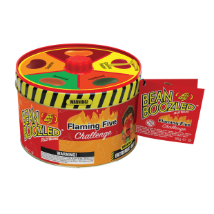 Bean Boozled Flaming five tin