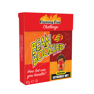 Bean Boozled Flaming five box