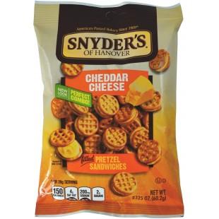 Snyder's Cheddar Cheese Pretzel Sandwiches