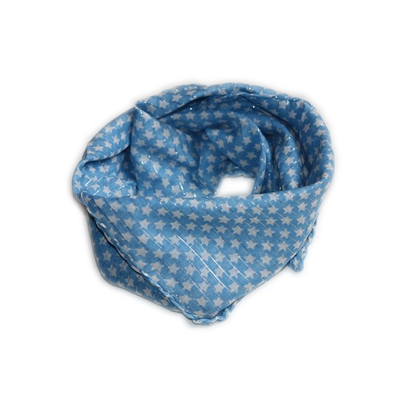 foulard-bleu-etoile