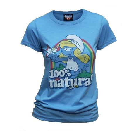 The Smurfs Combinaison Verte-Bleue avec des Rayures Schtroumpf