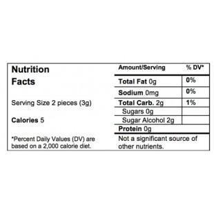 Cinnamon Classic nutrition