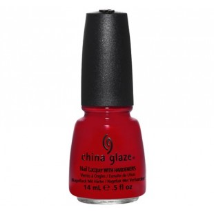 Red Satin China Glaze
