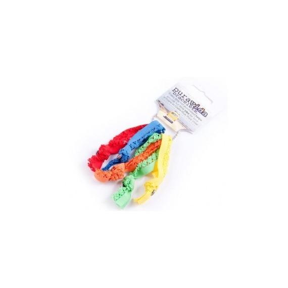 Rainbow Hair Ties