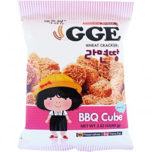 GGE Wheat Crackers BBQ Cube