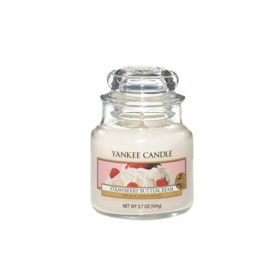 Bougie Petite Jarre Strawberry ButterCream Yankee Candle