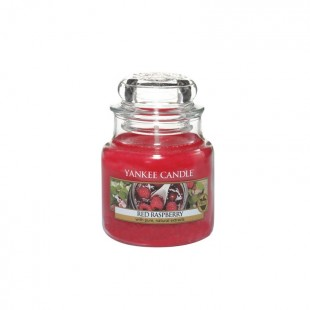 Red Raspberry Bougies Jarres