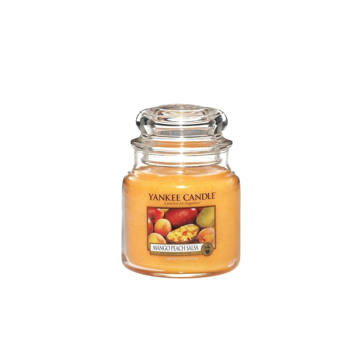 yankee candle jarre mango peach salsa. Black Bedroom Furniture Sets. Home Design Ideas