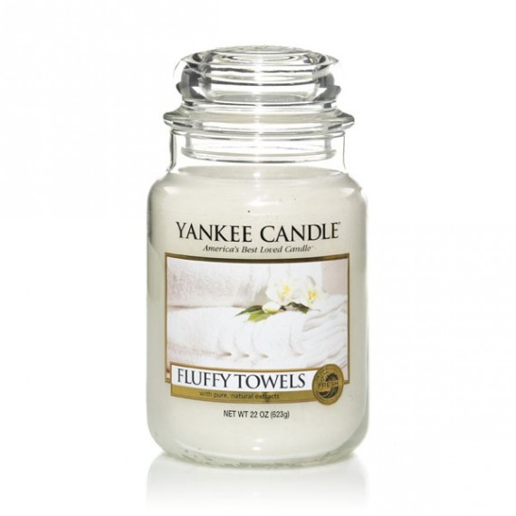 Yankee Candle Bougie Petite Jarre Fluffy Towels