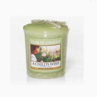 Yankee Candle  A Child's Wish votive
