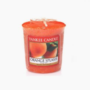 Orange Splash Votive