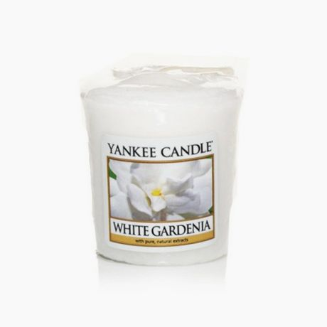Yankee Candle Votive White Gardenia