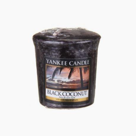 Yankee Candle Votive Black Coconut