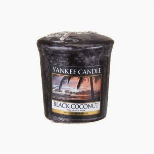 Yankee Candle Votive Black Coconut