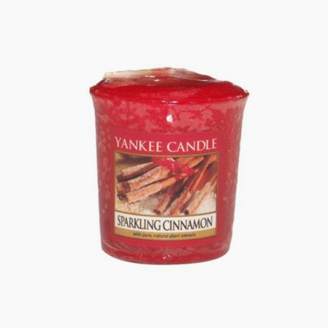 Yankee Candle Sparkling Cinnamon votive
