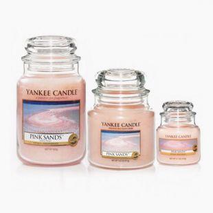 Yankee Candle Bougies Jarres Pink Sand