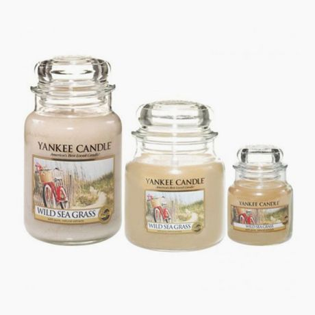 Yankee Candle Bougies Jarres  Wild Sea Grass