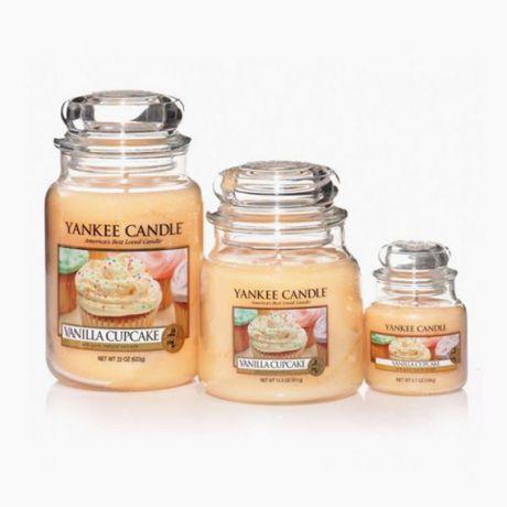 Yankee Candle Bougies Jarres Vanilla CupCake