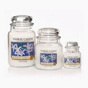 Yankee Candle Bougies Jarres Midnight Jasmine
