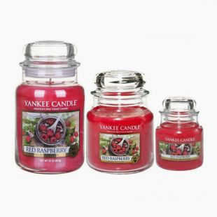 Bougies Jarres Red Raspberry Yankee Candle