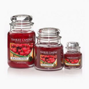Bougies Jarres Black Cherry Yankee Candle