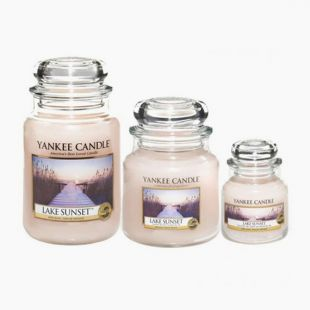 Yankee Candle Bougies Jarres Lake Sunset