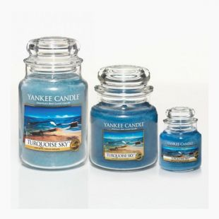 Yankee Candle Bougies Jarres Turquoise Sky