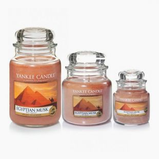 Yankee Candle Jarres Egyptian Musk