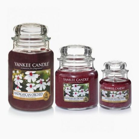 Yankee Candle Jarres Madagascan Orchid
