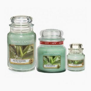 Bougies Jarres Aloe Water Yankee Candle