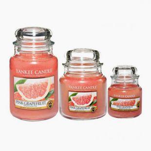 Bougies Jarres Pink Grape Fruit Yankee Candle