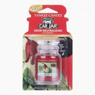 Yankee Candle Ultimate Car Jar Cramberry Pear
