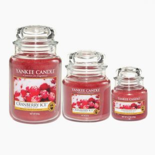 Yankee Candle Cranberry Ice Bougie Jarre