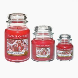 Yankee Candle Candy Cane Lane Bougie Jarre
