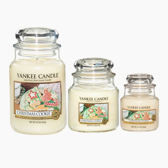 Yankee Candle Christmas Cookie Bougie Jarre