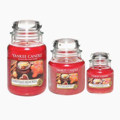 Yankee Candle Christmas Memories Bougie Jarre