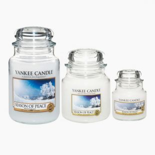 Yankee Candle Season of Peace Bougie Jarre