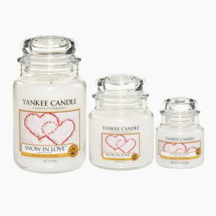Yankee Candle Snow in love bougie Jarre