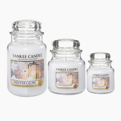 Yankee Candle Winter Glow bougie  jarre