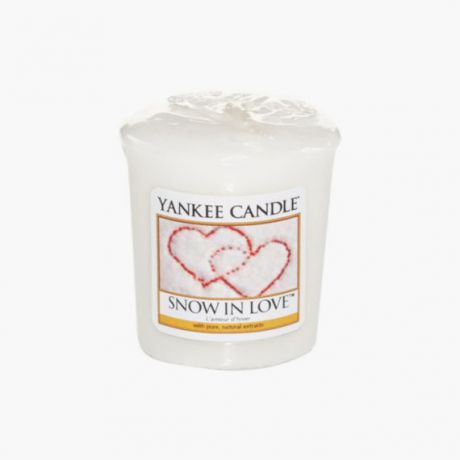 Yankee Candle Snow in Love Votive