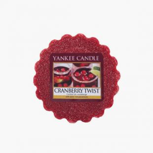 Cranberry Twist Tartelette Yankee Candle