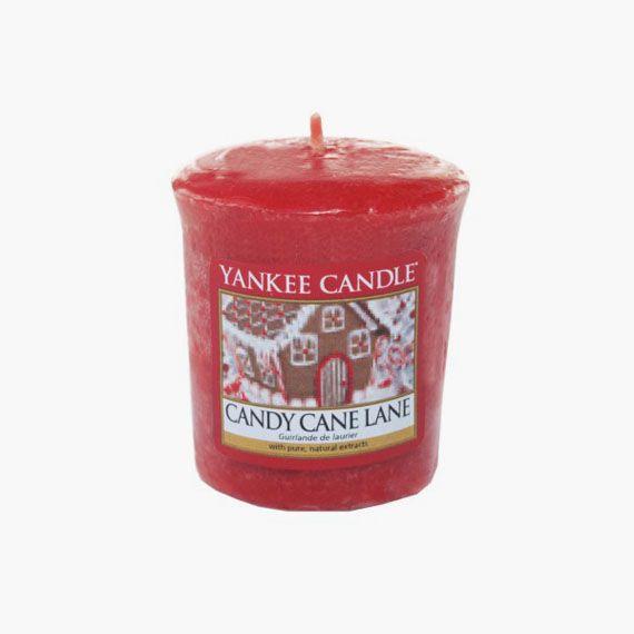 Yankee Candle Candy Cane Lane Votive