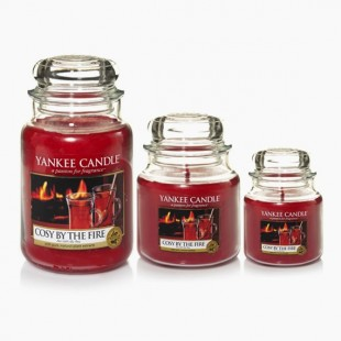 Cozy By the Fire Bougie Jarre Yankee Candle