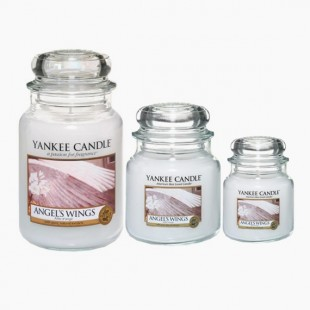 Angel Wings Bougie Jarre Yankee Candle