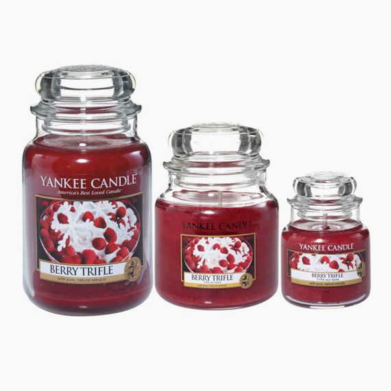 Yankee Candle Berry Trifle Bougie Jarre